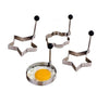 Stainless Egg Shaper Set Of 4
