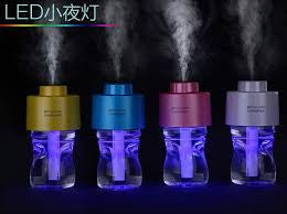 Portable Water Bottle Caps Humidifier Aroma Air Moisture Balancer