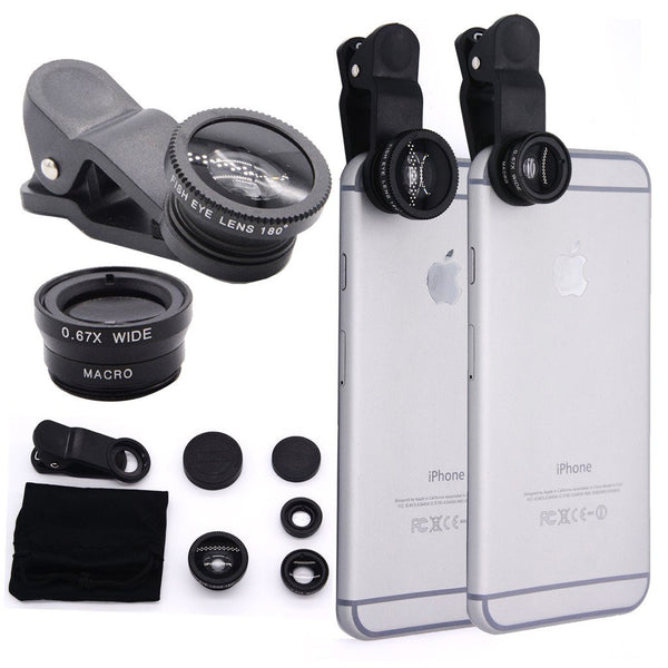 (2 in 1) Smartphone Photo Lens