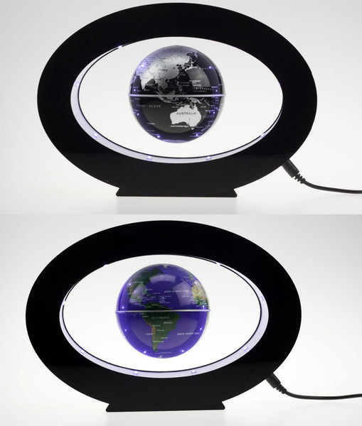 Magnetic Levitation Floating 3 Inches Globe World Map