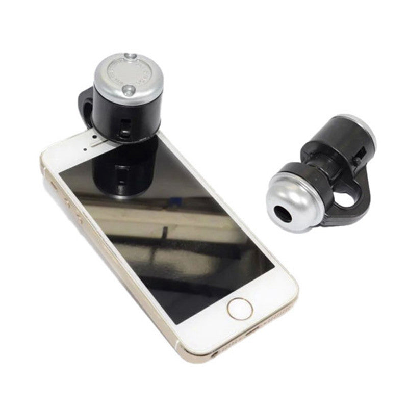 Generic 60X Zoom LED Magnifier Clip-On Cellphone Mobile Phone Microscope Micro Lens For Apple For iPhone For Samsung For iPad