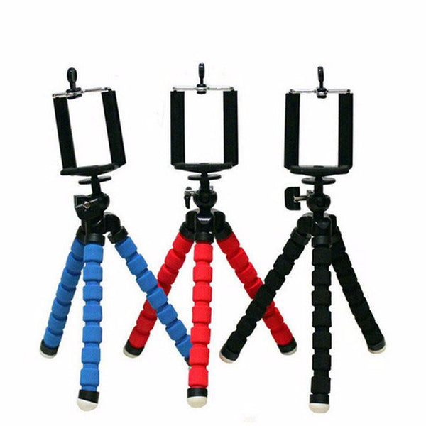 Mini Portable Flexible Tripod Holder Mount Stand For Action Camera Gopro Hero 3/3+/4 Accessories And Mobile Phone High Quality