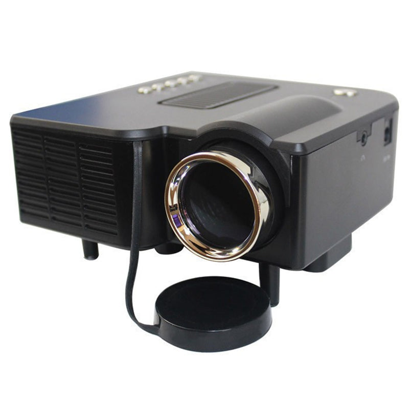 Home Theater Mini Portable Projector  Support 1080P HDMI AV-in Video VGA HDMI USB SD