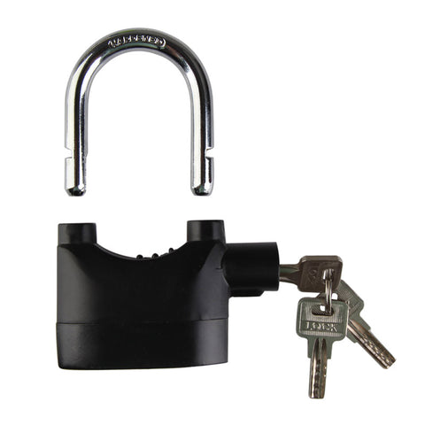 High Quality Home Hardware Locks Accessories Bike MTB Motorcycle Motion Sensor Security Alarm Lock Padlock