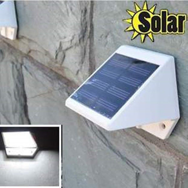 Solar Powered AA Ni-Mh Convert Outdoor White Light Waterproof Serviceable Lamp Solitaire Exterior