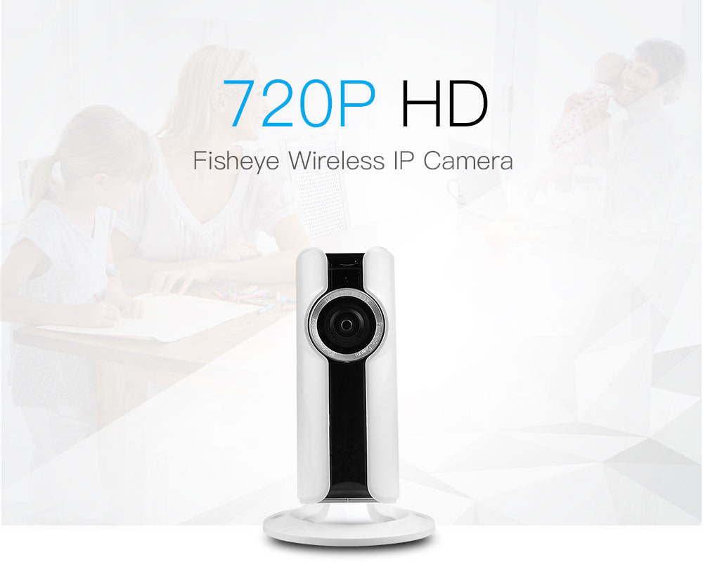 Smart Home Protection Security Camera  WIFI IP Camera 720P (VR HD Smart - Panoramic Network Surveillance)