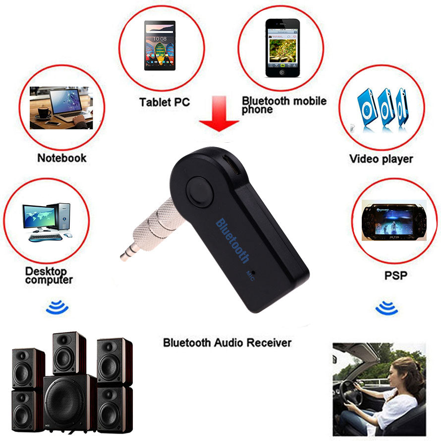 Car Bluetooth Music Receiver With Mic