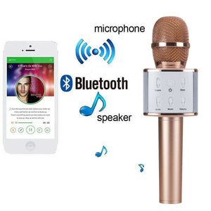 Wireless Bluetooth Mic for iPhone & Android Smartphones