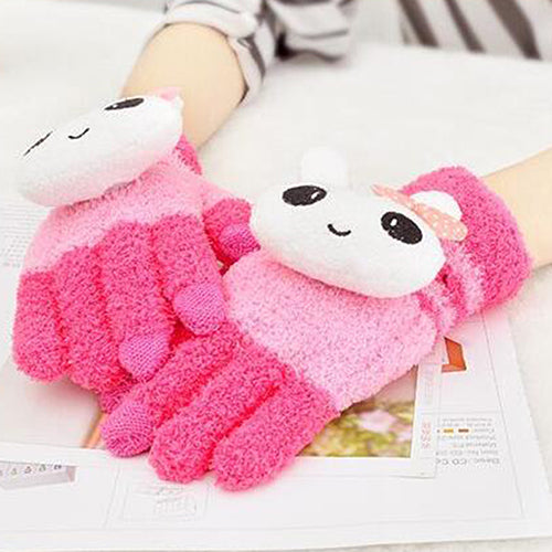 Winter Fashion Warm Cute Touch Screen Gloves