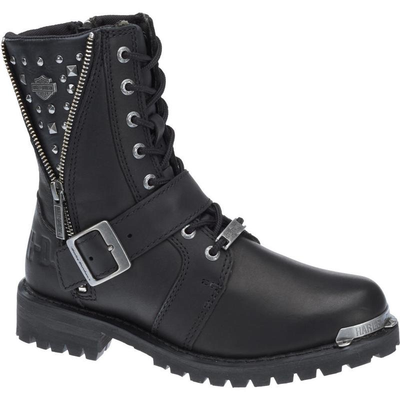 Harley-Davidson Womens Mindy Boot - Black - d87051