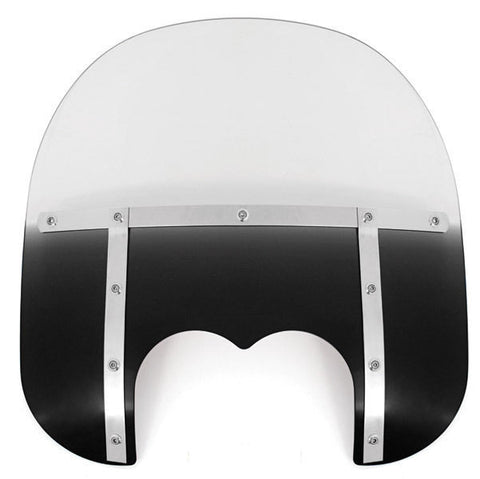 "Gradient 15"" Tall Windshield - Black - Replacement - 2313-0129"