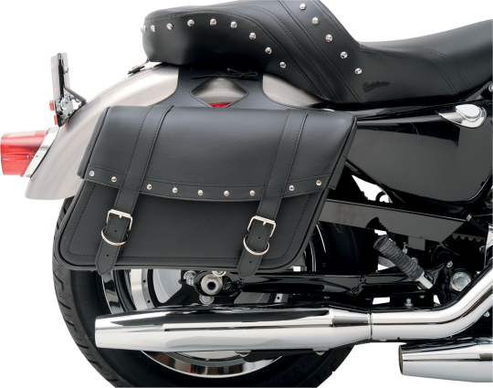 Throw-Over Highwayman Slant Style Universal SaddleHyde Saddlebags, Jumbo - 3501-0093