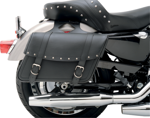 Throw-Over Highwayman Slant Style Universal SaddleHyde Saddlebags, LG - 3501-0091