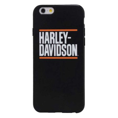 Harley-Davidson Block Script iPhone 7 Phone Shell, Black 7820