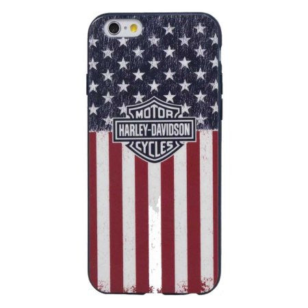Harley-Davidson Americana Bar & Shield Flag iPhone 7 Phone Shell, 7823