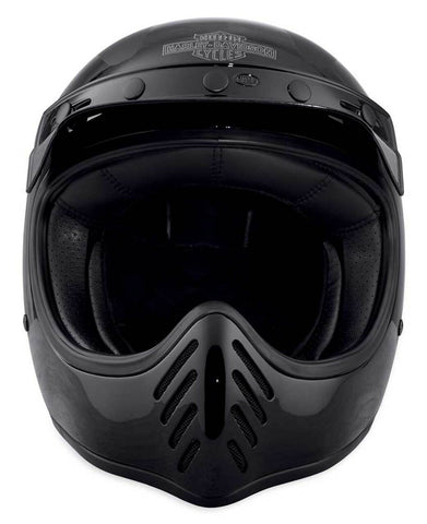 Men's Harley-Davidson® Garage Stinger B14 Full-Face Helmet, Black 98197-18VX