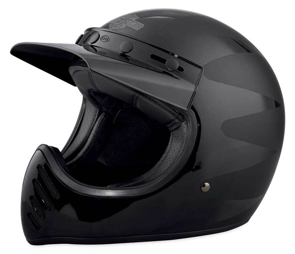 Men's Harley-Davidson® Garage Stinger B14 Full-Face Helmet - Black 98197-18VX