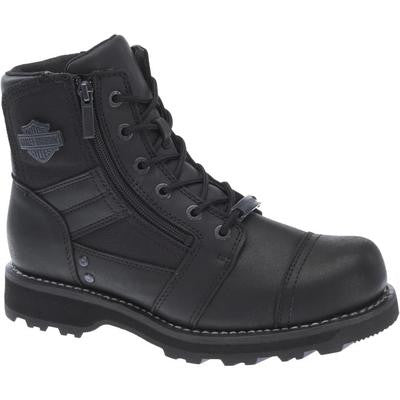 Harley-Davidson Men's Bonham Work Boot, Black