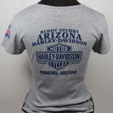 Harley-Davidson Ladies Intersect USMC Short Sleeve T-Shirt