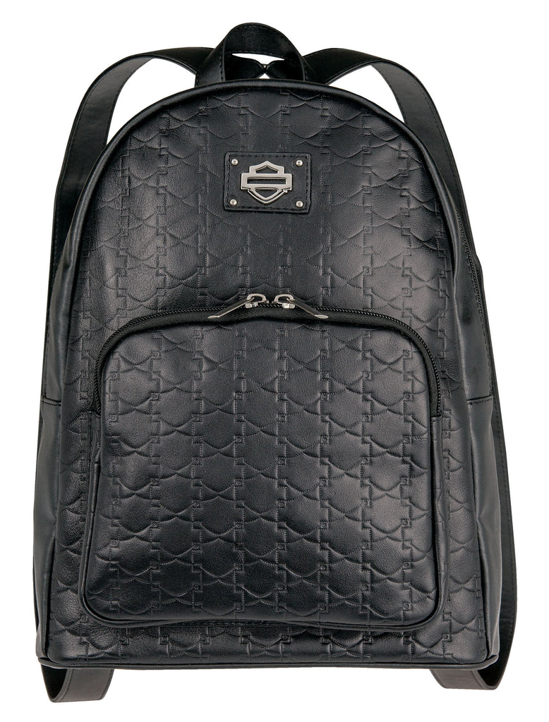 Women's Harley-Davidson Down Home Backpack, Black - HDWBA11161-BLK