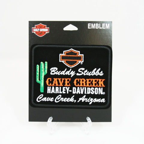 Buddy Stubbs Cave Creek Harley-Davidson Logo Patch