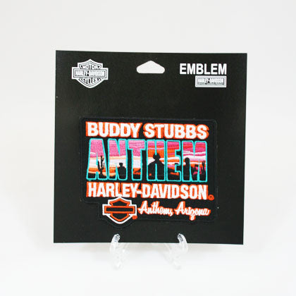 Buddy Stubbs Anthem Harley-Davidson Logo Patch