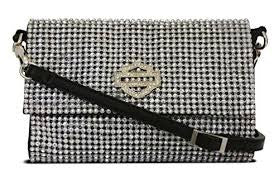 Women's Harley-Davidson Saturday Night Crossbody/Hip Bag, Crystal - HDWBA10237