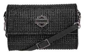 Women's Harley-Davidson Sunday Morning Crossbody/Hip Bag, Black