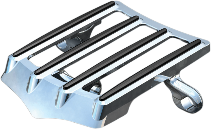 Luggage Rack by Kuryakyn, Fits 97-08 FLHT