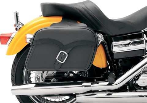 Softbag Midnight Express Slant Style Universal Saddlebags by Saddlemen