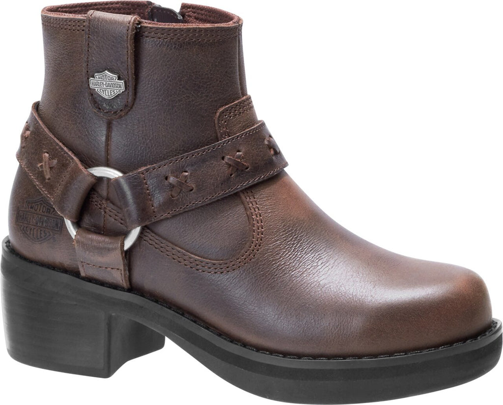 CLEARANCE Women's Harley-Davidson® Adena 4.5-Inch Brown Casual Boots, D84461