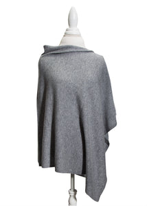 Heather Grey Wool/Cashmere