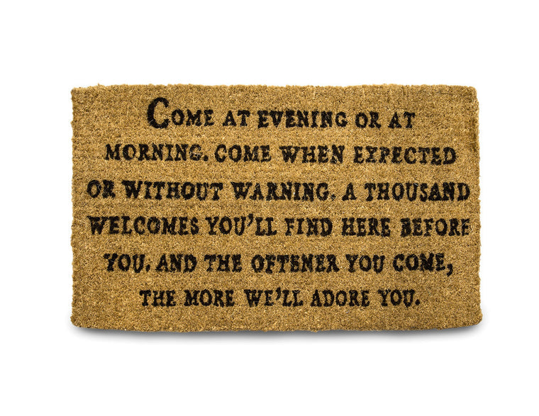 A Thousand Welcomes Doormat
