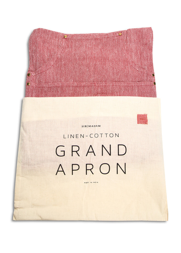 Herringbone Grand Apron