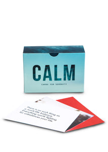 School of Life Prompt Cards: Calm