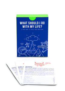 School of Life Prompt Cards: What Should I Do With My Life?