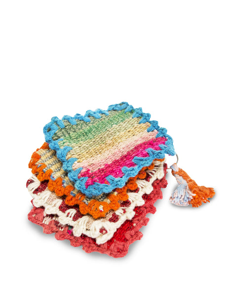 Hand-Crocheted Coasters