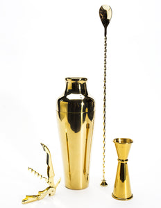 Gold Double-Hinged Waiter's Corkscrew