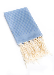 Hand Towel Solid Weave Denim