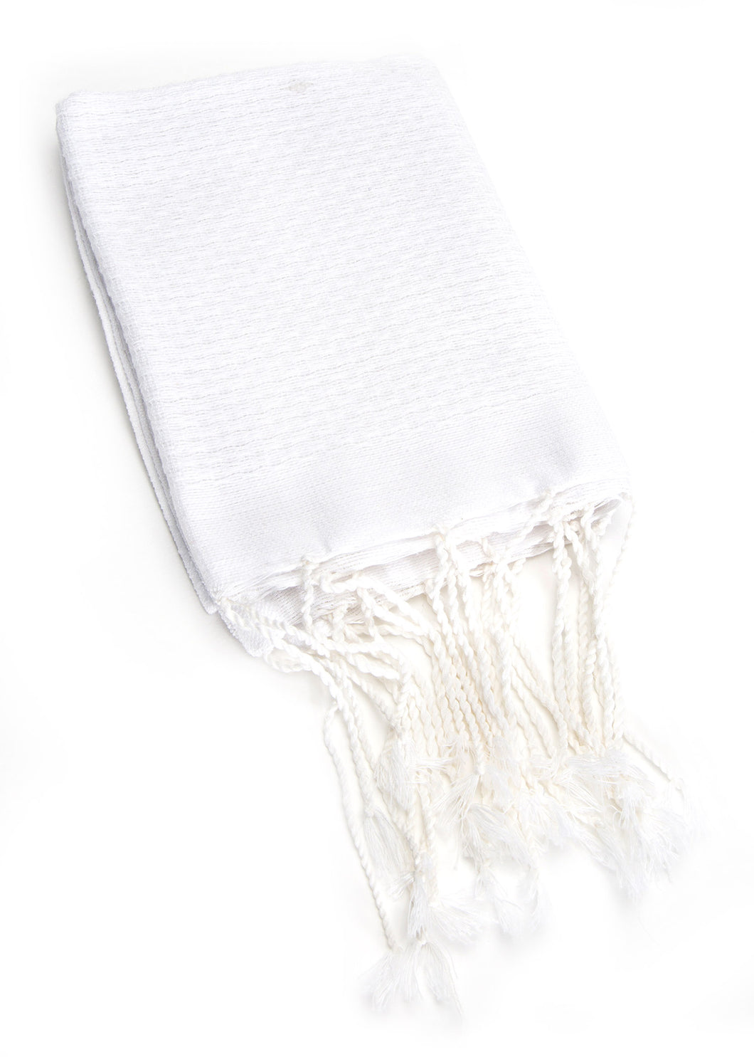 Hand Towel Solid Weave White