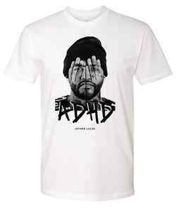 White ADHD T-Shirt + Instant ADHD Digital Download