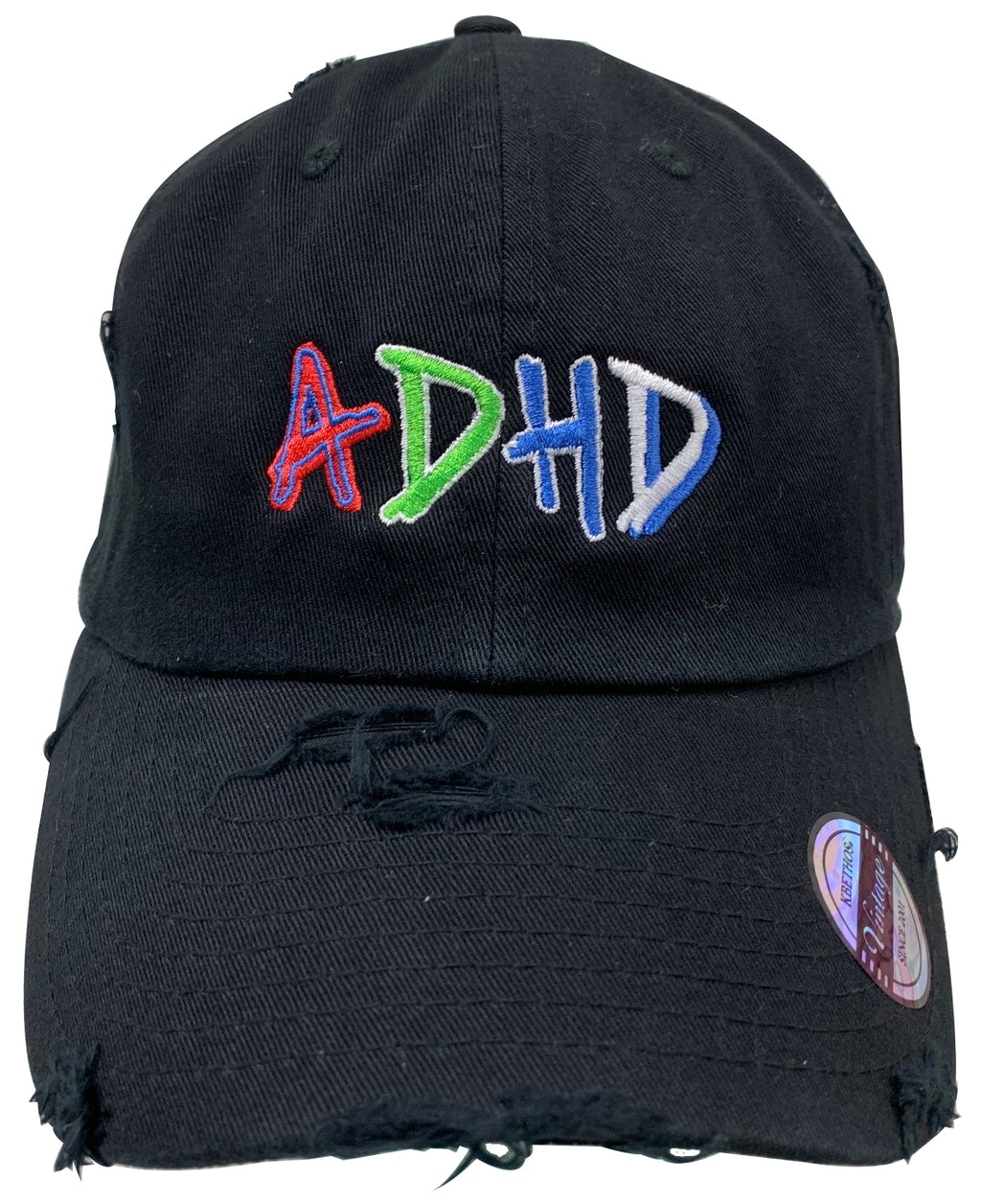 Black ADHD Dad Hat + Instant ADHD Digital Download + PRE ORDER