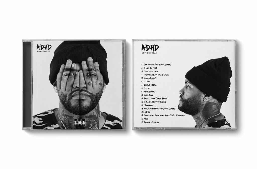 ADHD Autographed CD