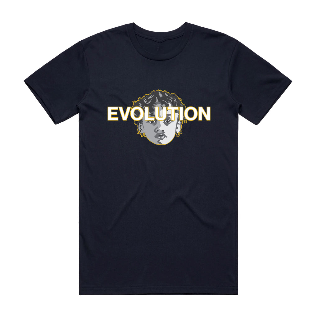 NAVY EVOLUTION T-SHIRT