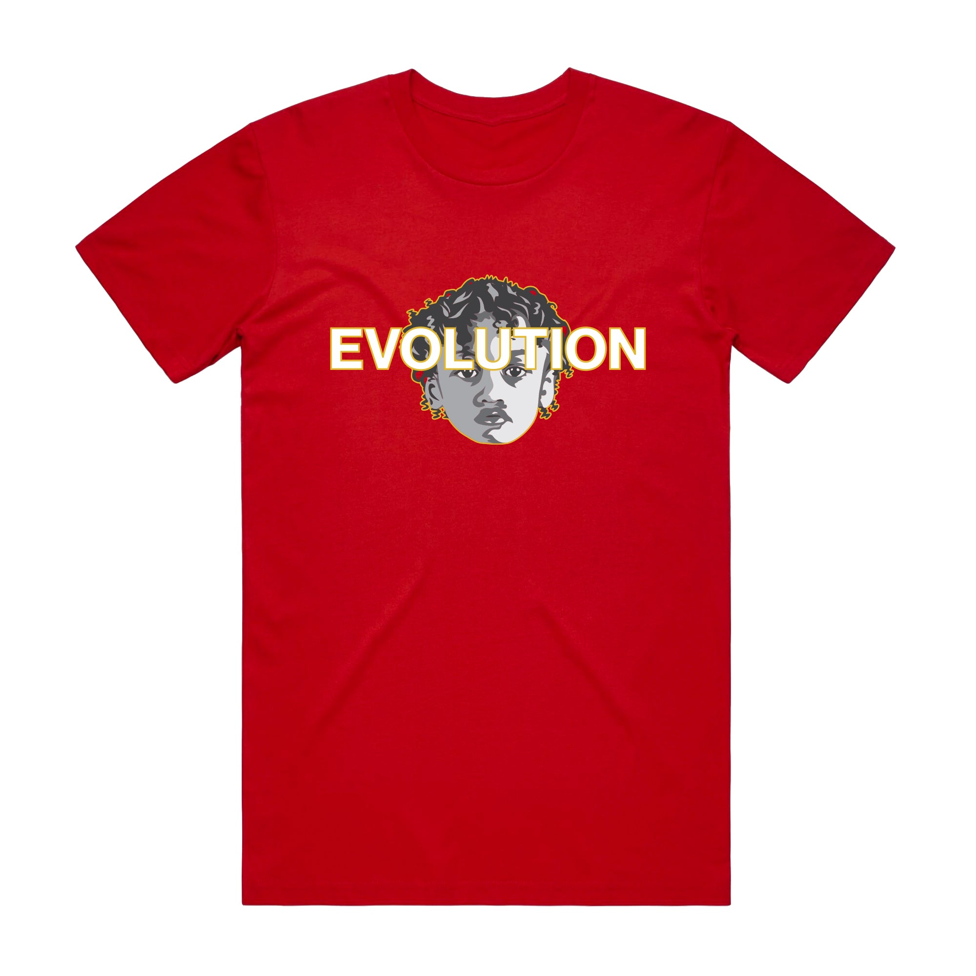 RED EVOLUTION T-SHIRT