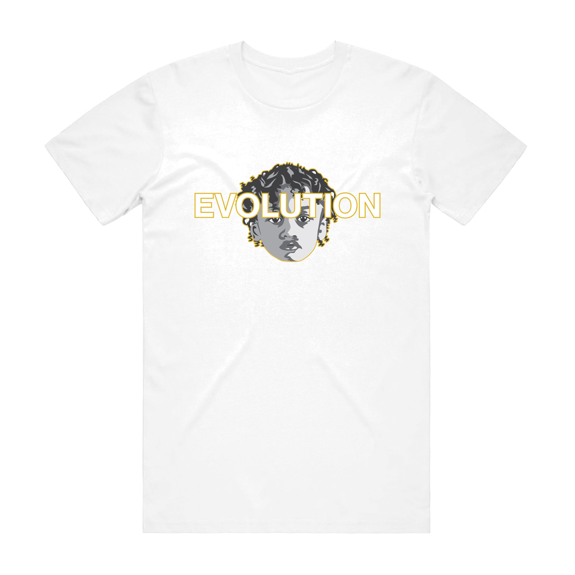 WHITE EVOLUTION T-SHIRT