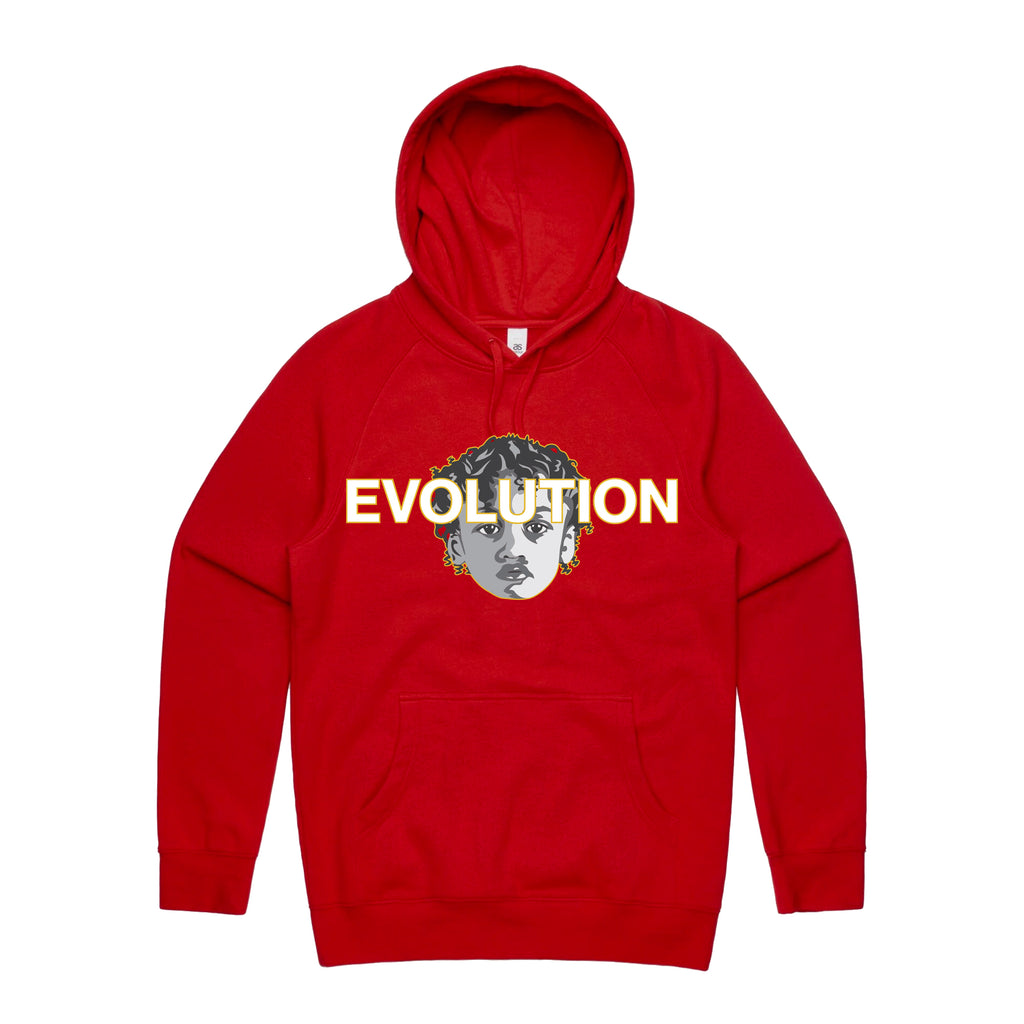 RED EVOLUTION HOODIE