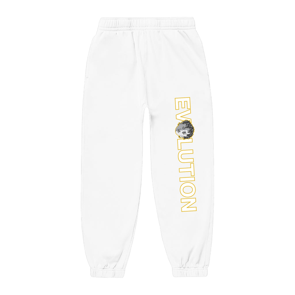 WHITE EVOLUTION JOGGER
