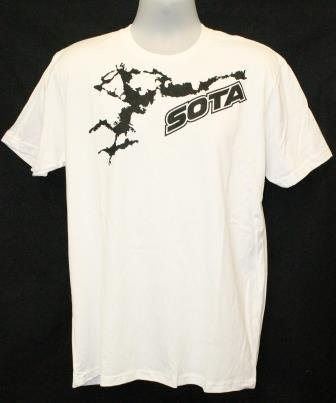 Splash T-Shirt White