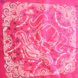 "Pink ""Skelly"" Bandana"